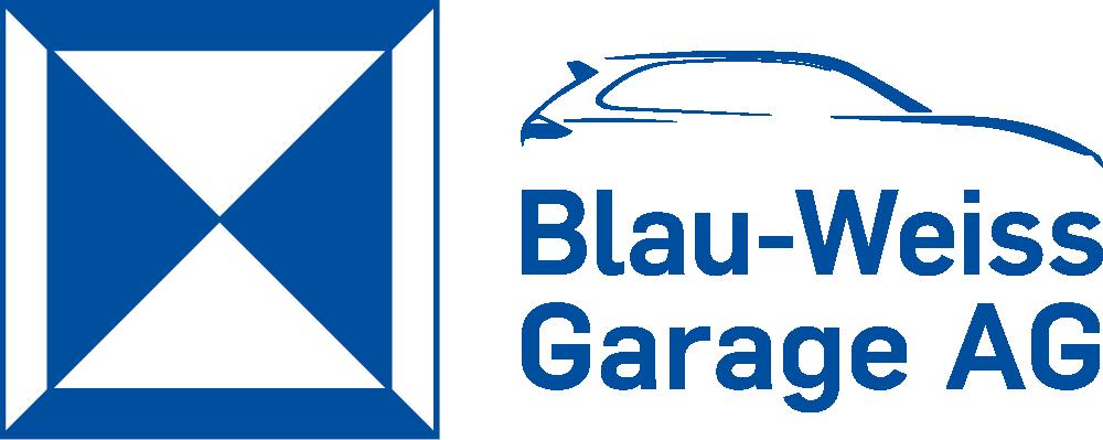 Blauweiss Garage AG Logo